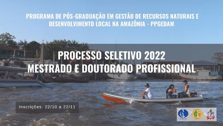 Processo Seletivo 2022 para Mestrado e Doutorado profissional