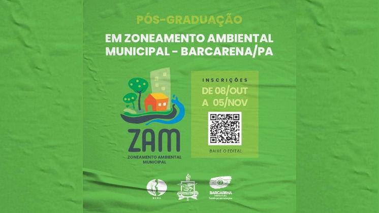 Curso de Pós-Graduação lato sensu em Zoneamento Ambiental Municipal - ZAM